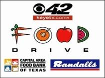 8th Annual CBS-42 KEYE Food Drive