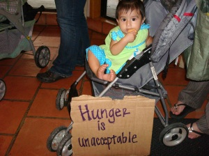 One in four texas children are food insecure.