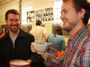 Austinites enjoying their new bowls