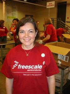 Shona Thomson, Freescale employee